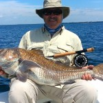 45lb Black Drum on Fly