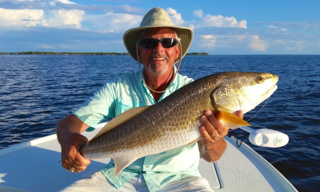 Charles with Everglades Redfish