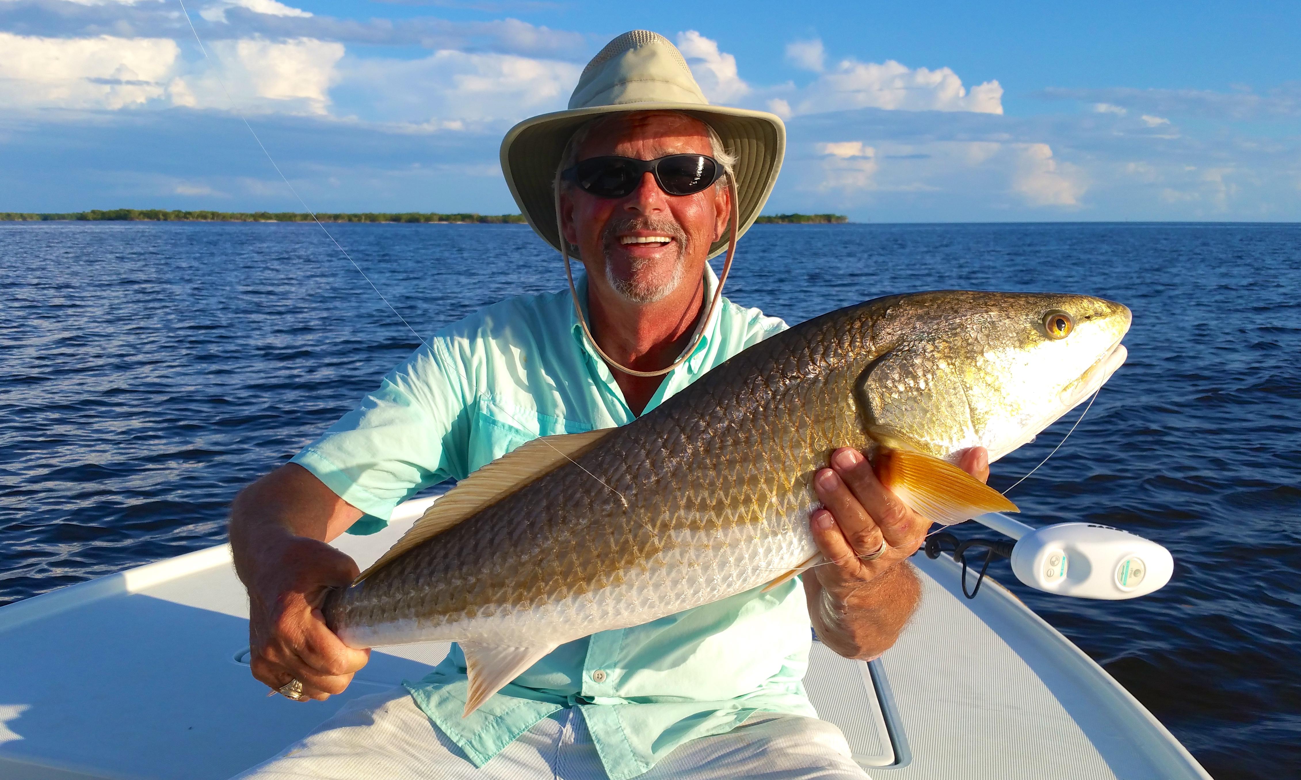 Charles with Everglades Redfish